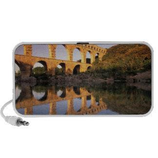 EU, France, Provence, Gard, Pont du Gard. 2 Mp3 Speakers