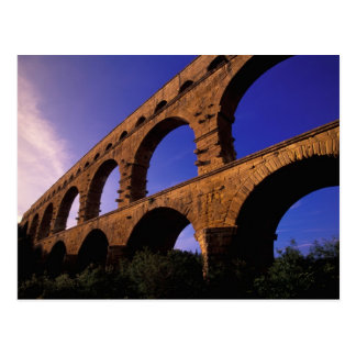 EU, France, Provence, Gard, Pont du Gard. 3 Postcard