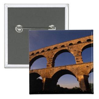 EU, France, Provence, Gard, Pont du Gard. 4 Button