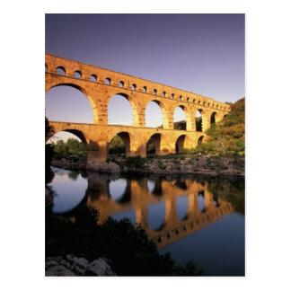 EU, France, Provence, Gard, Pont du Gard. Postcard