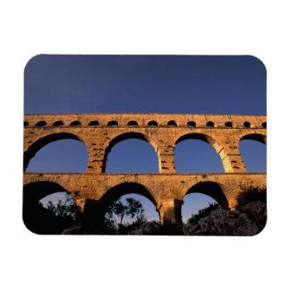 EU, France, Provence, Gard, Pont du Gard. Roman Magnet