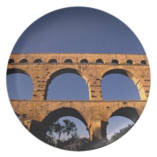 EU, France, Provence, Gard, Pont du Gard. Roman Melamine Plate