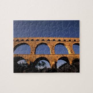 EU France Provence Gard Pont du Gard Roman Jigsaw Puzzles