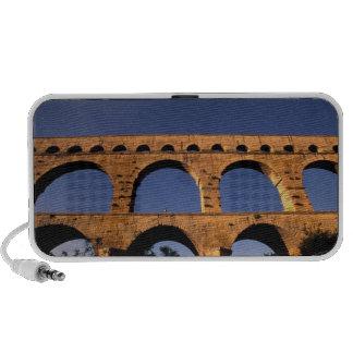 EU, France, Provence, Gard, Pont du Gard. Roman Mp3 Speakers