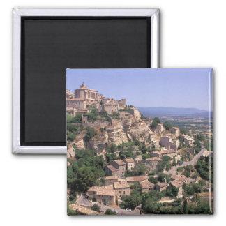 EU, France, Provence, Luberon, Gordes Magnet