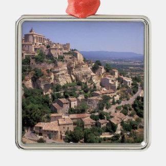 EU, France, Provence, Luberon, Gordes Metal Ornament