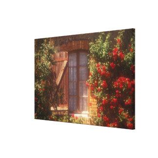 EU, France, Provence, Vaucluse, Apt. House Canvas Print