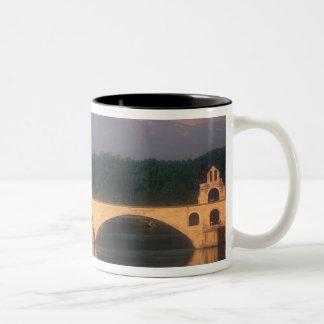 EU, France, Provence, Vaucluse, Avignon. Pont Two-Tone Coffee Mug