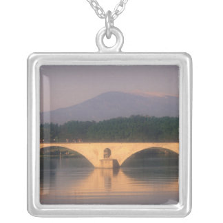 EU, France, Provence, Vaucluse, Avignon. Pont Silver Plated Necklace