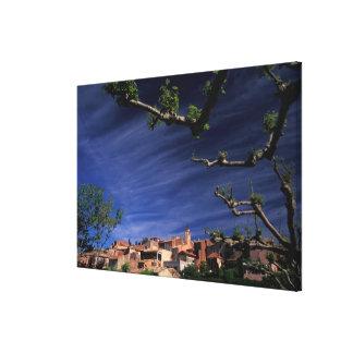 EU, France, Provence, Vaucluse, Roussillon. 3 Canvas Print