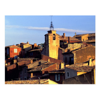 EU, France, Provence, Vaucluse, Roussillon. 3 Postcard