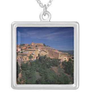 EU, France, Provence, Vaucluse, Roussillon. 4 Silver Plated Necklace