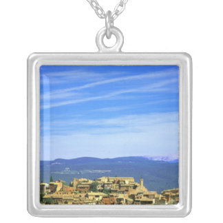 EU, France, Provence, Vaucluse, Roussillon. Silver Plated Necklace