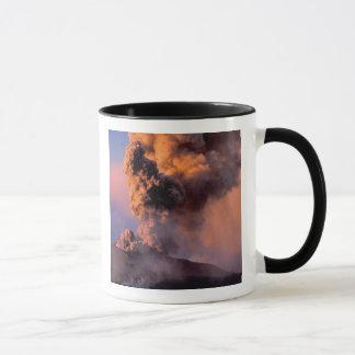 EU, Italy, Sicily, Mt. Etna summit vent Mug
