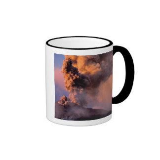 EU, Italy, Sicily, Mt. Etna summit vent Coffee Mug