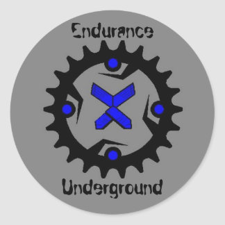 EU rounder Classic Round Sticker