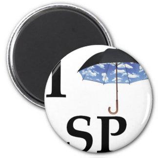 Eu ☂ SP Magnet