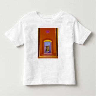 EU, Spain, Barcelona. Lit doorway near Picasso Toddler T-shirt