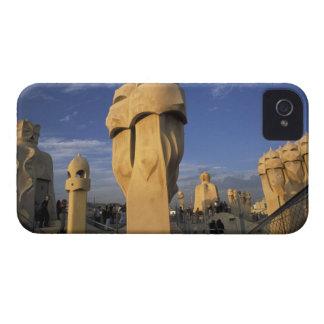 EU, Spain, Catalonia, Barcelona. Antonio Gaudi's iPhone 4 Case-Mate Case