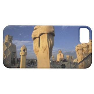 EU, Spain, Catalonia, Barcelona. Antonio Gaudi's iPhone SE/5/5s Case