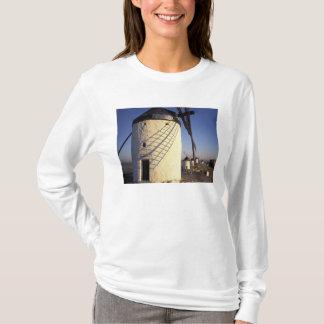 EU, Spain, Consuegro, La Mancha. Windmills and T-Shirt