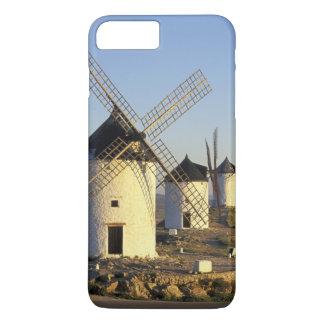 EU, Spain, La Mancha, Consuegra. Windmills and iPhone 7 Plus Case