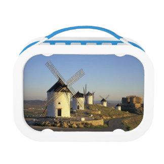 EU Spain La Mancha Consuegra Windmills and Yubo Lunchboxes