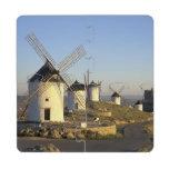 EU, Spain, La Mancha, Consuegra. Windmills and Puzzle Coaster