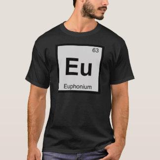 Eu - tabla periódica de la química de la música playera