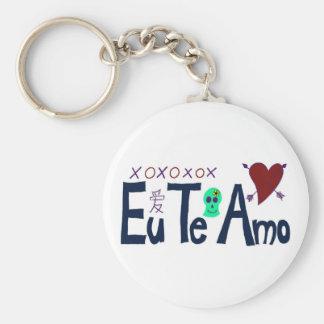 Eu Te Amo Keychains