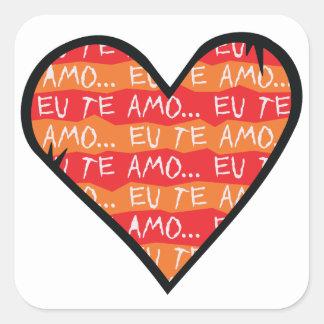 Eu Te Amo Stickers