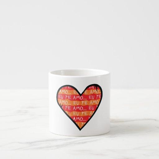 Eu Te Amo Taza Espresso