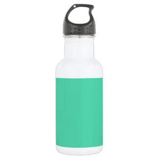 EUCALYPTUS (a solid minty green color) ~ Stainless Steel Water Bottle