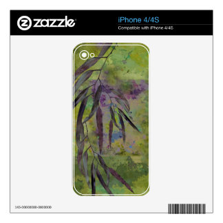 EUCALYPTUS BRANCH SKINS FOR iPhone 4S
