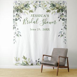 Eucalyptus Bridal Shower Chic Photo Booth Backdrop