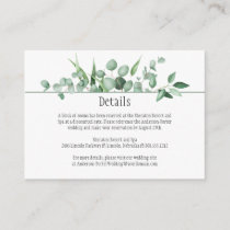 Eucalyptus Envy Detail Cards