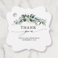 Wedding Favor Tags<
