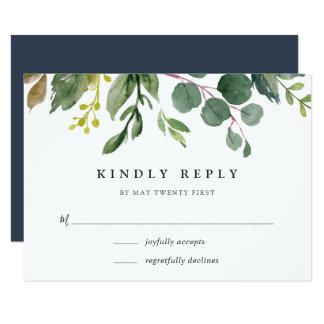 Eucalyptus Grove RSVP Card