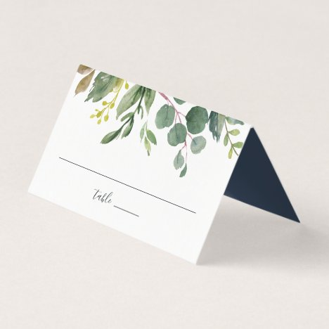 Eucalyptus Grove Wedding Place Card