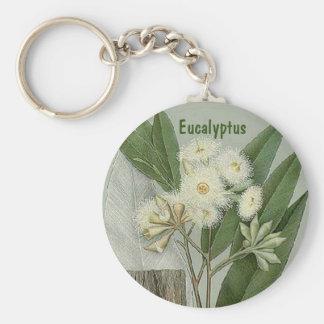 Eucalyptus keychain