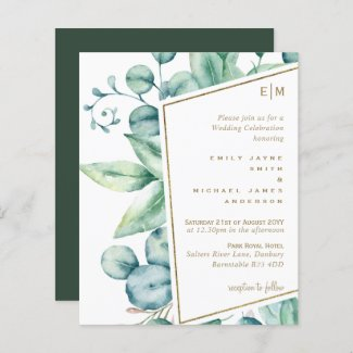 Eucalyptus Leaves Natural Greenery Wedding Chic