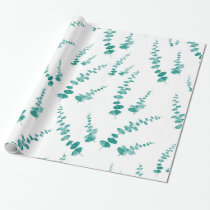 Eucalyptus Pattern Wrapping Paper