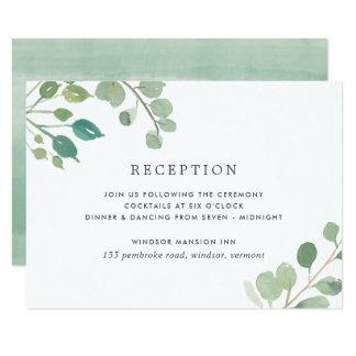Eucalyptus Reception Enclosure Card