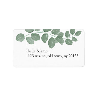 Eucalyptus Return Address Labels