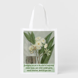 Eucalyptus reusable bag market totes