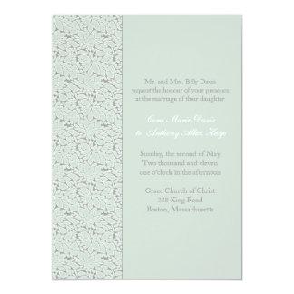 Eucalyptus Stone Wedding Invitation