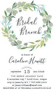brunch bridal shower invitations zazzle