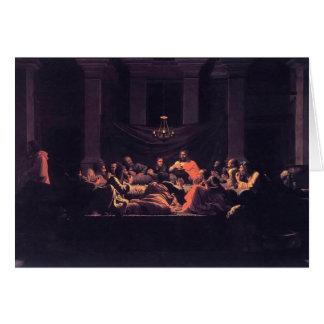Eucaristía de Nicolás Poussin- Tarjetas