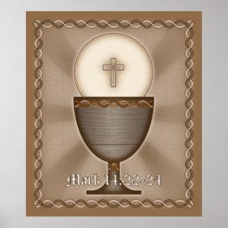Eucaristía Poster