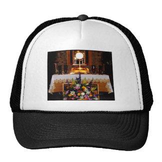 Eucaristía santa/el sacramento bendecido gorros bordados